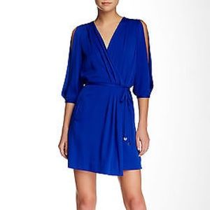 DVF Autumn Silk Dress size 0 with tags